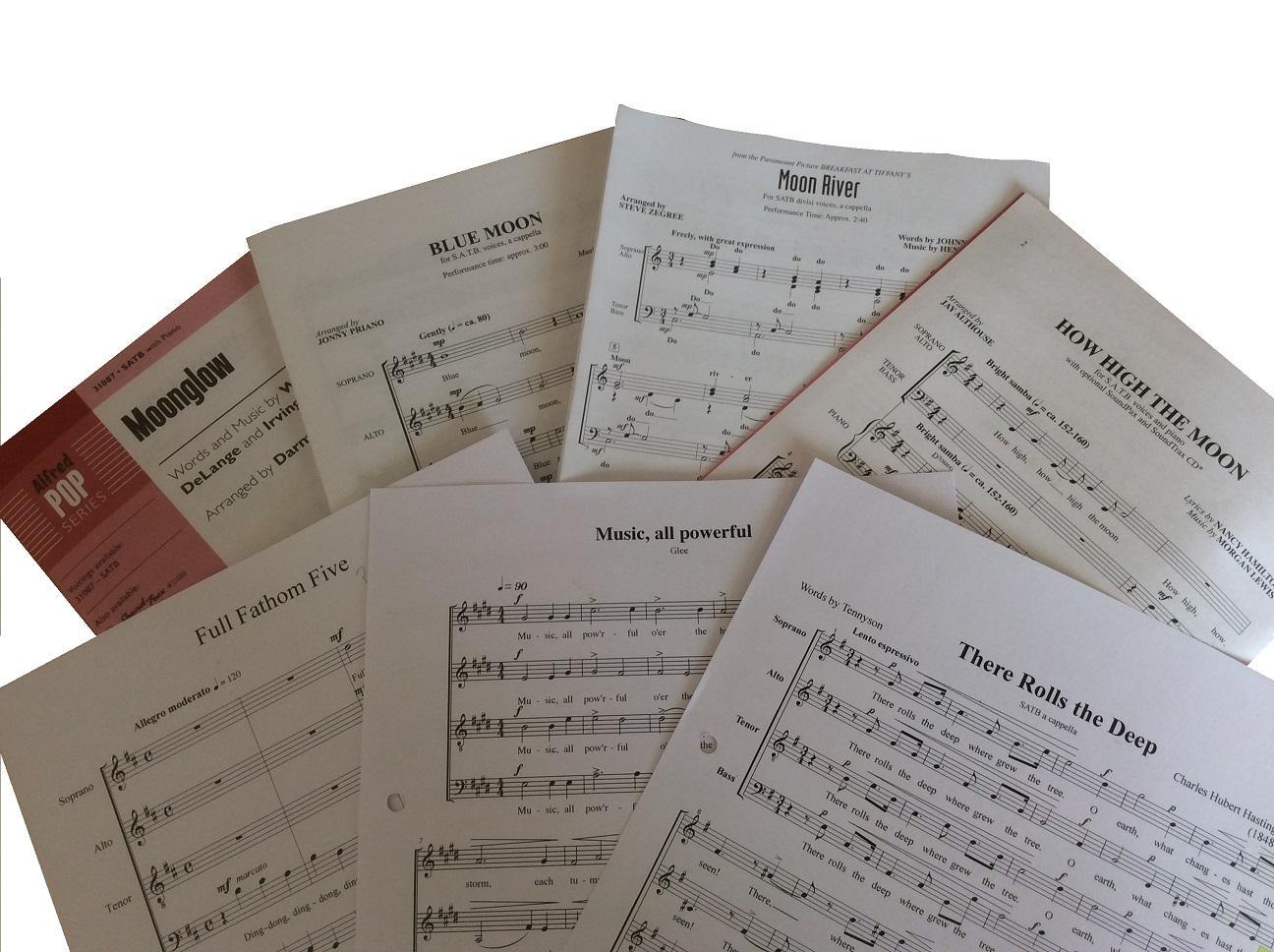 November 2018 Concert Repertoire
