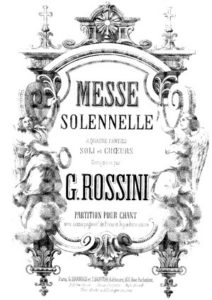 Rossini MS cover