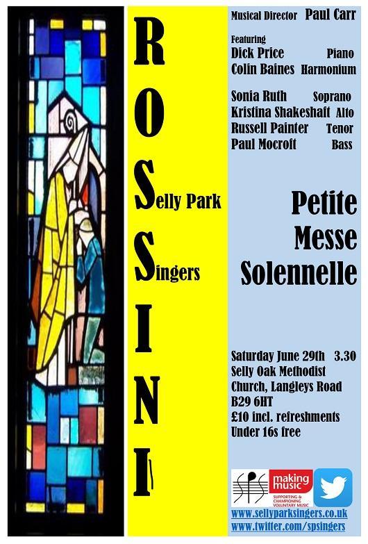 SPS June 2019 Concert Poster